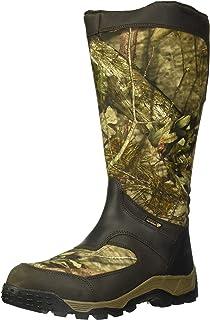Rocky Men's Sport Pro Waterproof Side-Zip Snake Boot Knee...