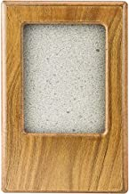 """Midlee Oak Picture Frame Pet Urn 5.75"""" x 4"""" x 4.25"""", up to 30lbs Pet"""