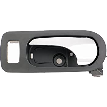 Amazon Com Dorman 88583 Front Driver Side Interior Door Handle For Select Buick Models Black And Chrome Automotive