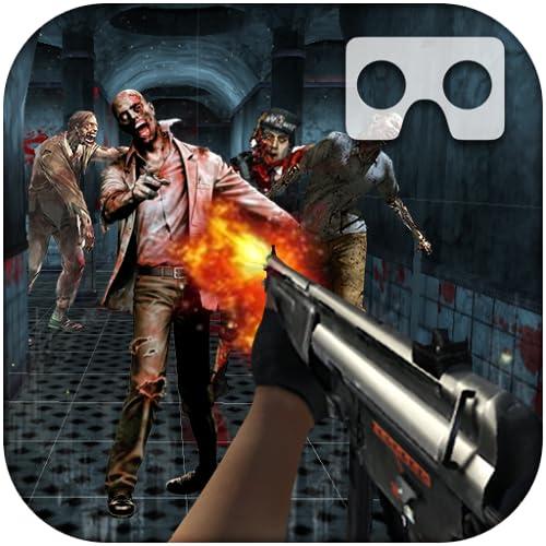 Zombie da guerra final de VR