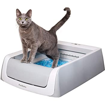 PetSafe ScoopFree Automatic Self-Cleaning Cat Litter Box – Includes Disposable Trays with Crystal Litter