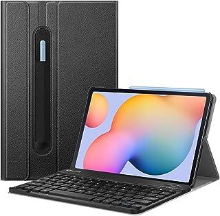 حافظة لوحة مفاتيح من فينتي لهاتف سامسونج جالاكسي تاب S6 لايت 10.4 انش 2020 طراز SM-P610 واي فاي SM-P615 LTE، حافظة بحامل ر...