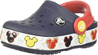 Crocband Mickey Fun Lab Light Up Clog | Mickey Mouse Light Up Shoes