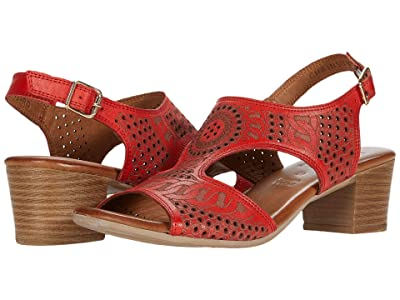 Spring Step Chains (Red) Women