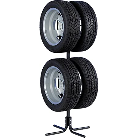 """Unitec 10905 Support pour pneus et Jantes pour 4 pneus de Voiture 17"""""""