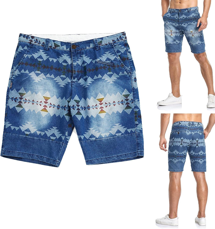 dailycos Men's Max Popular overseas 40% OFF Casual Denim Shorts