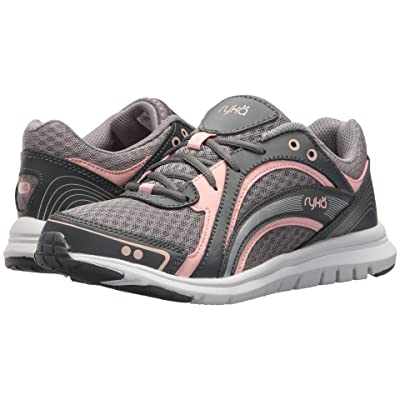 Ryka Aries (Iron Grey/Frost Grey/English Rose) Women