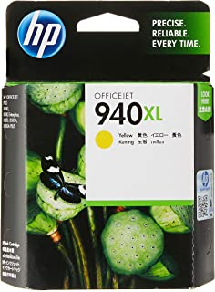 Hp 940xl High Yield Ink Cartridge, Yellow [c4909ae]