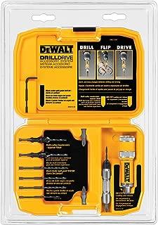 DEWALT Screwdriver Bit Set / Drill Bit Set, Flip Drive, 12-Piece (DW2735P)