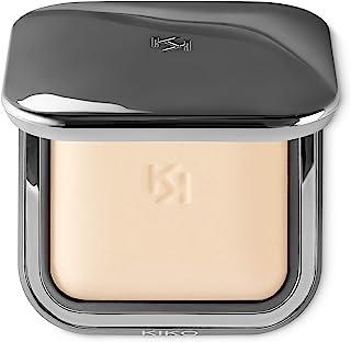 KIKO MILANO - Radiant Fusion Baked Face Powder Foundation   Mineral Powder With a Luminous Finish   Color Avory 01   Cruel...