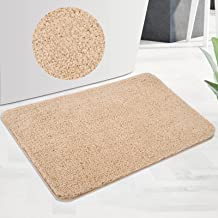 Gwane Bathroom Rug, 24x16 Bath Mat for Bathroom Non-Slip Soft Shaggy Thickness, Water Absorbent and Machine Washable, for ...