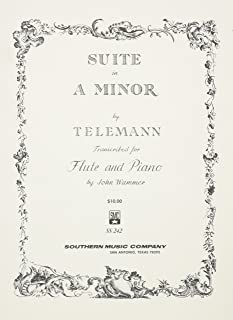 Suite in A Minor: Flute