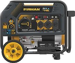Firman H03651 4550/3650 Watt Electric Start Gas or Propane Dual Fuel Portable Generator..