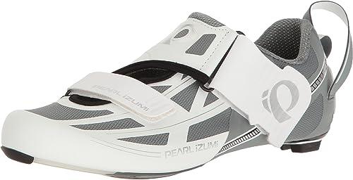 PEARL IZUMI Tri Fly Elite V6 Chaussures Femme, blanc argent