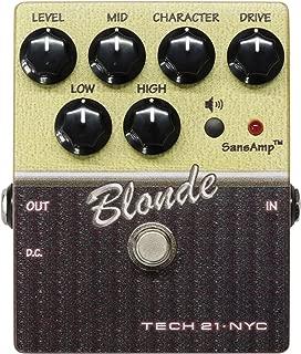 Tech 21 Character Series CS-BL.2 Blond V2 Guitar Distortion Effect Pedal