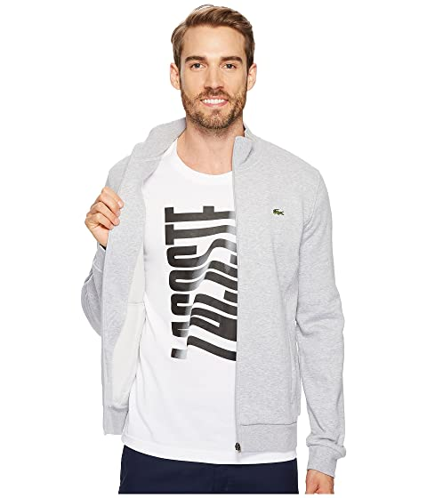 Sweatshirt Full Sport Zip Lacoste Fleece pfw4q