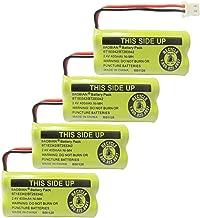 BAOBIAN 2.4V 400mAh Cordless Home Phone Battery Compatible with AT&T BT162342 BT-162342 BT166342 BT-166342 BT266342 BT-266342 BT183342 BT-183342 BT283342 BT-283342 VTech CS6329 CS6114 CS6419(4 Pack)