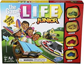 The Game of Life Junior Board Game for Kids Ages 5 and Up, Game for 2-4 Players
