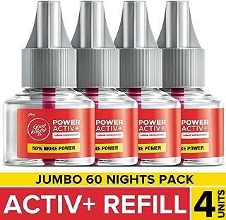 Good Knight Power Activ+ Jumbo Pack (45ml*4U)