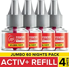 Good Knight Power Activ+, Mosquito Repellent - 60 Nights Jumbo Refill (Pack of 4)
