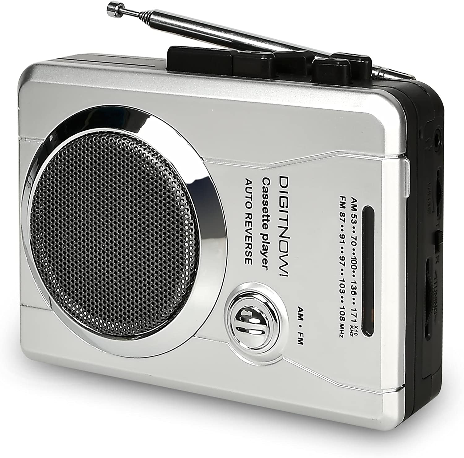 DIGITNOW AM mart FM Portable Pocket Radio Audio Re and Cassette Spring new work Voice