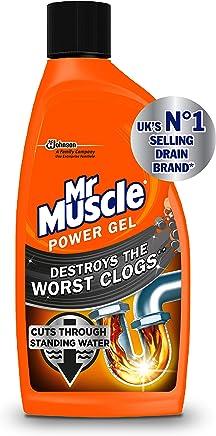 Mr Muscle Power Gel Drain Unblocker, 500 ml, Pack of 2