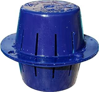 Sinking Floating Chlorine Dispenser | Uses LESS Chlorine | Sinks - Cleans Pool Water - Then Floats for Refilling | Sunken Treasure (Dark Blue)