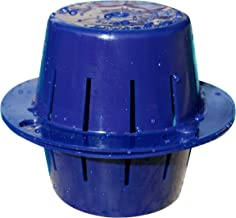 Sinking Floating Chlorine Dispenser | Uses LESS Chlorine | Sinks - Cleans Pool Water - Then Floats for Refilling | Sunken Treasure (Dark Blue)