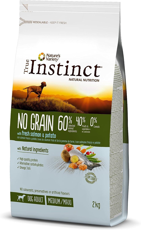 alimento libre de cereales para perro con omega 3 y 6
