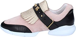 GUARDIANI Trainers Womens Suede Gold