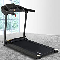 OVICX Home Treadmill 1.85HP Electric Running Exercise Machine 120KG Capacity LCD Display Foldable Cardio Fitness 420mm...