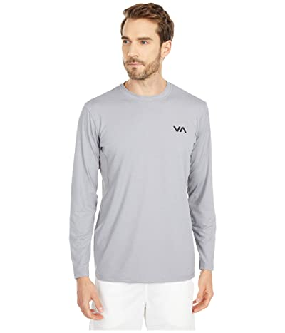 RVCA VA Sport Vent Long Sleeve Top (Smoke) Men