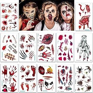 Amazon.es: disfraces halloween - Tatuajes temporales / Accesorios ...