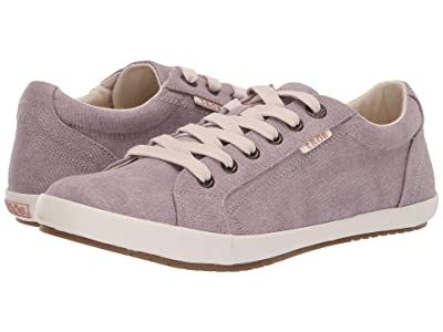 Taos Footwear Star (Mauve Wash Canvas) Women