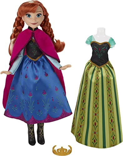 Disney Frozen Cornation Change Anna