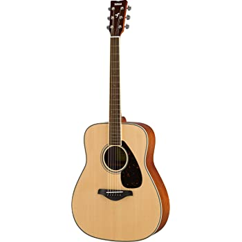 Yamaha FG820 Solid Top Acoustic Guitar, Natural
