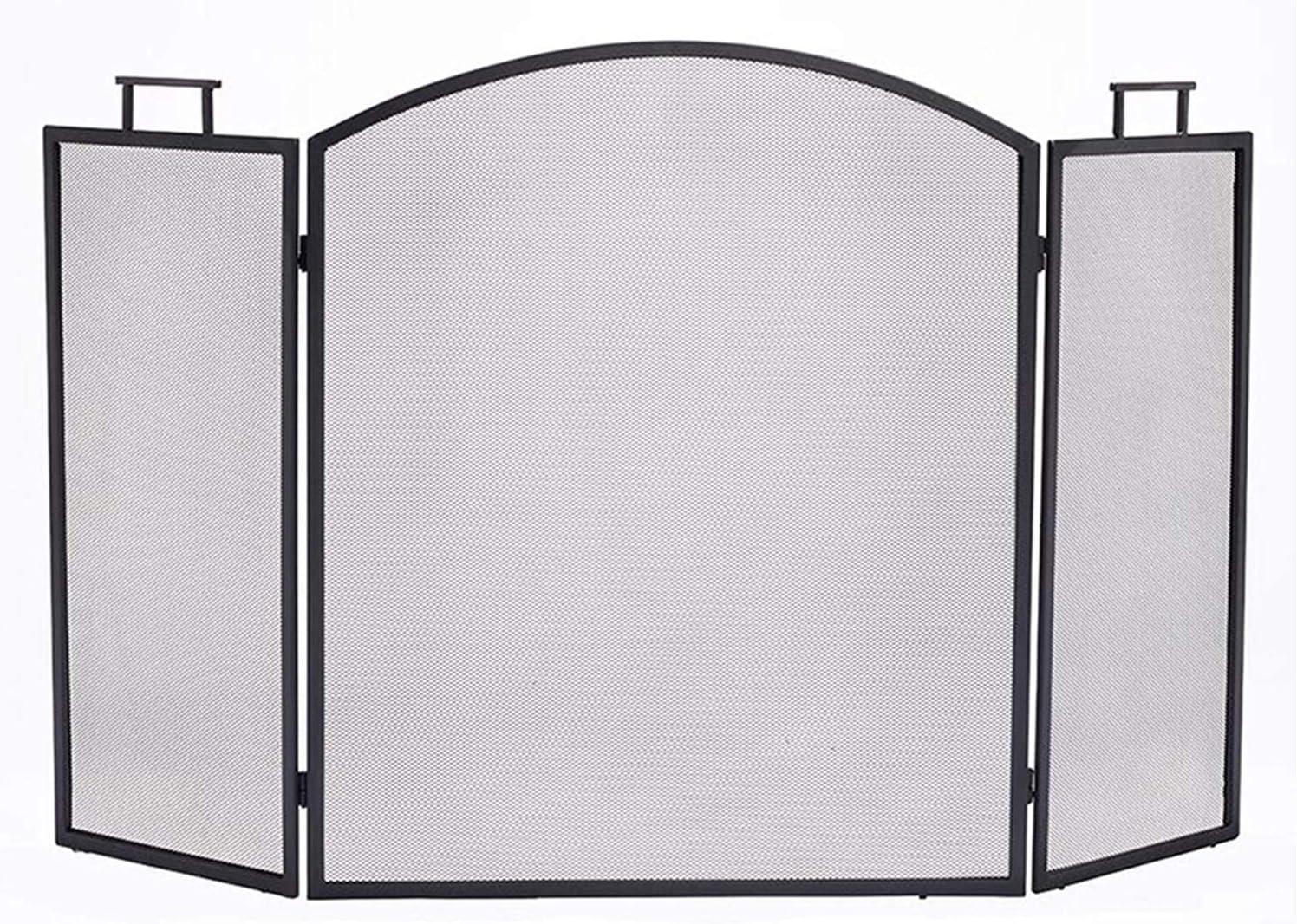JIE KE Design Al sold out. Specialties 3-Panel Handle with Fireplace Under blast sales Screen