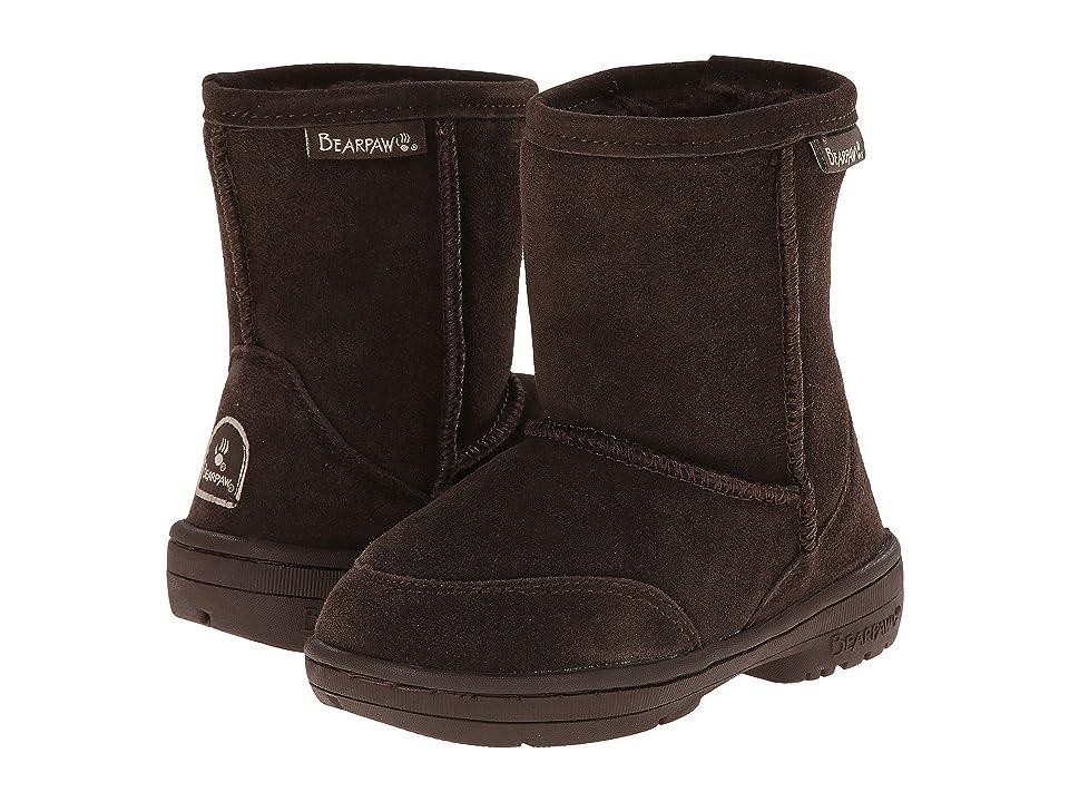 Bearpaw Kids Meadow (Toddler) (Chocolate II) Kids Shoes