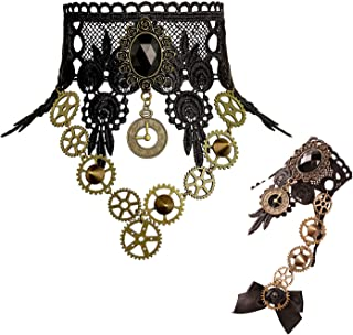 steampunk clock jewelry