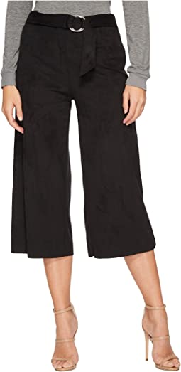 kensie - Stretch Suede Maxi Pants KS2U1046