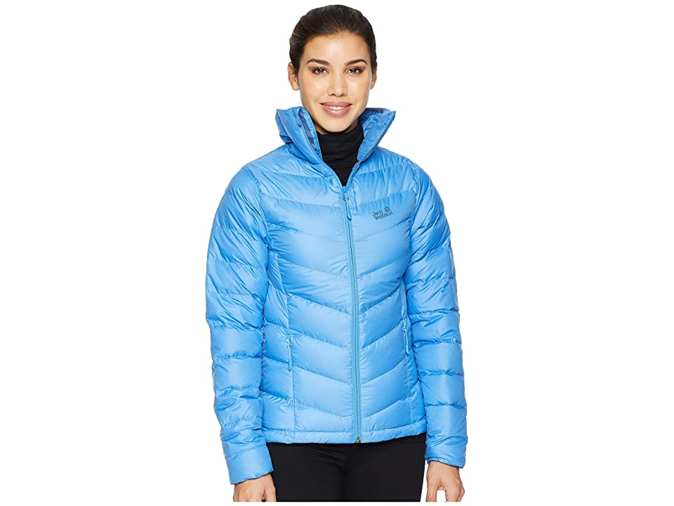 Jack Wolfskin Helium High Down Jacket (Zircon Blue) Women