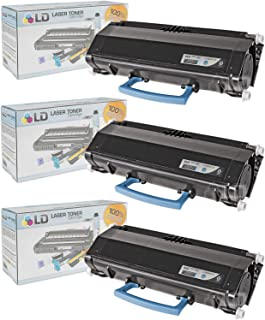 LD Compatible Toner Cartridge Replacement for Lexmark X264H11G High Yield (Black, 3-Pack)
