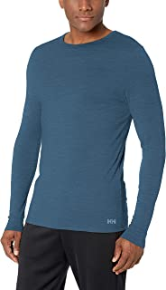 Helly Hansen Men's Merino Wool Mid Long-Sleeve Baselayer Top