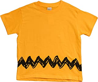 Charlie Brown Peanuts Zig Zag T-Shirt, Adult, Youth and Toddler