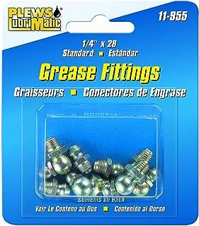Plews & Edelmann 11-955 Grease Fitting ASST. SAE 1/4