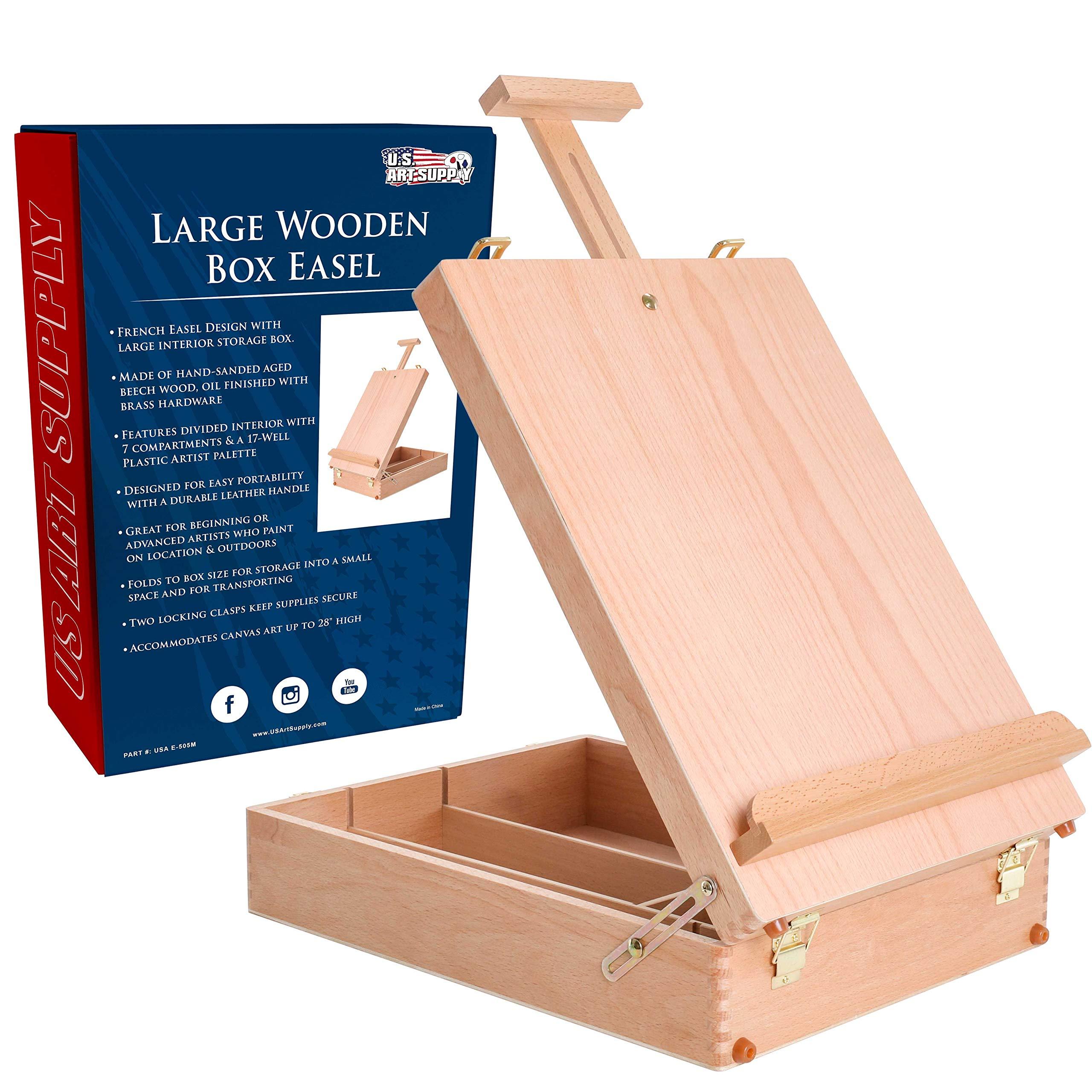 US Art Supply Adjustable Sketchbox