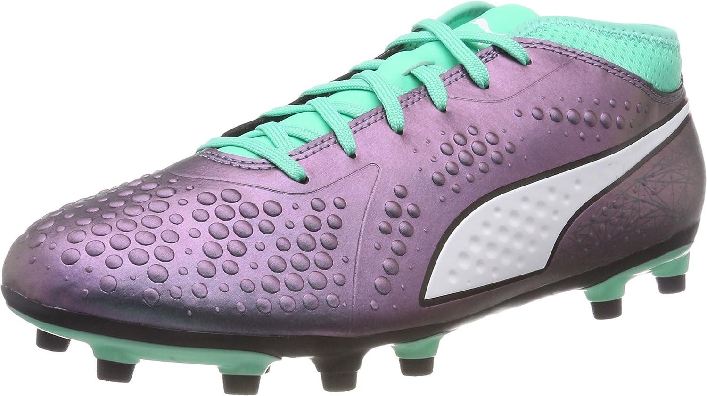 PUMA ONE 4 Illuminate SYN Firm Ground Mens Football Boots  Green