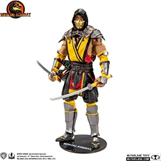 McFarlane Toys Mortal Kombat - Scorpion Action Figure, Multi