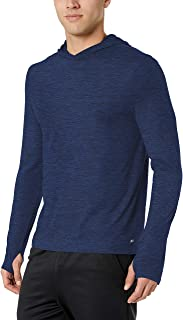 Amazon Essentials Men's Tech Stretch Long-Sleeve Performance Pullover Hoodie
