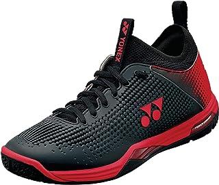 YONEX Power Cushion Eclipsion Z حذاء ملعب تنس رجالي (أسود / أحمر) المقاس: